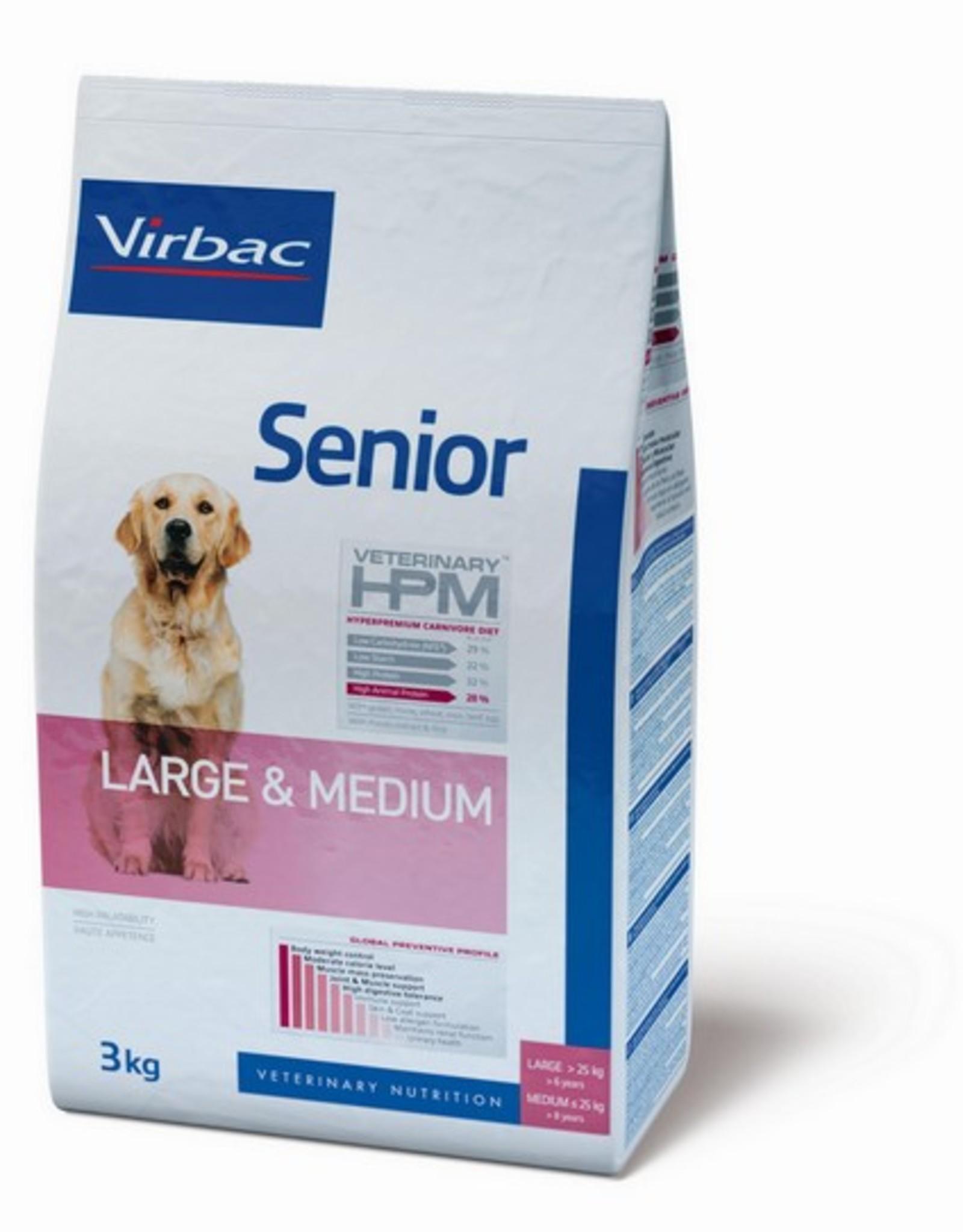 Virbac Virbac Hpm Hund Senior Large/medium Breed 12kg