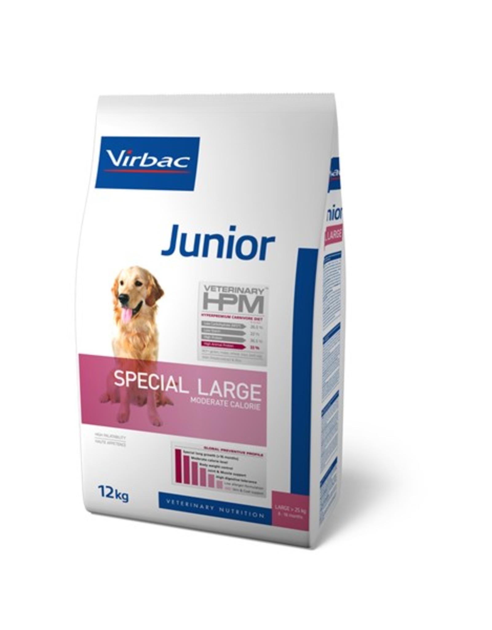 Virbac Virbac Hpm Chien Special Large Junior 12kg