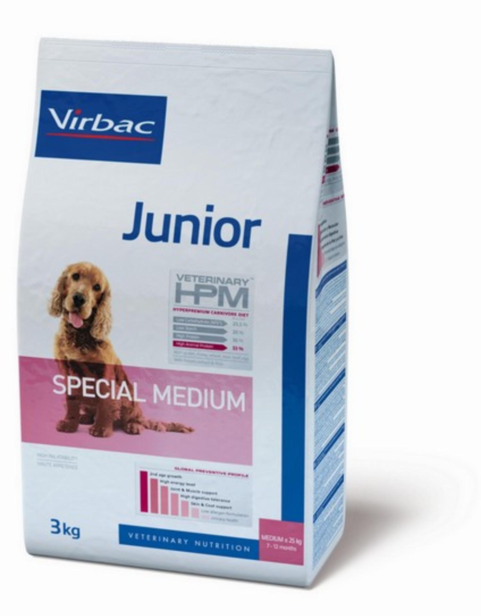Virbac Virbac Hpm Hund Special Medium Junior 3kg