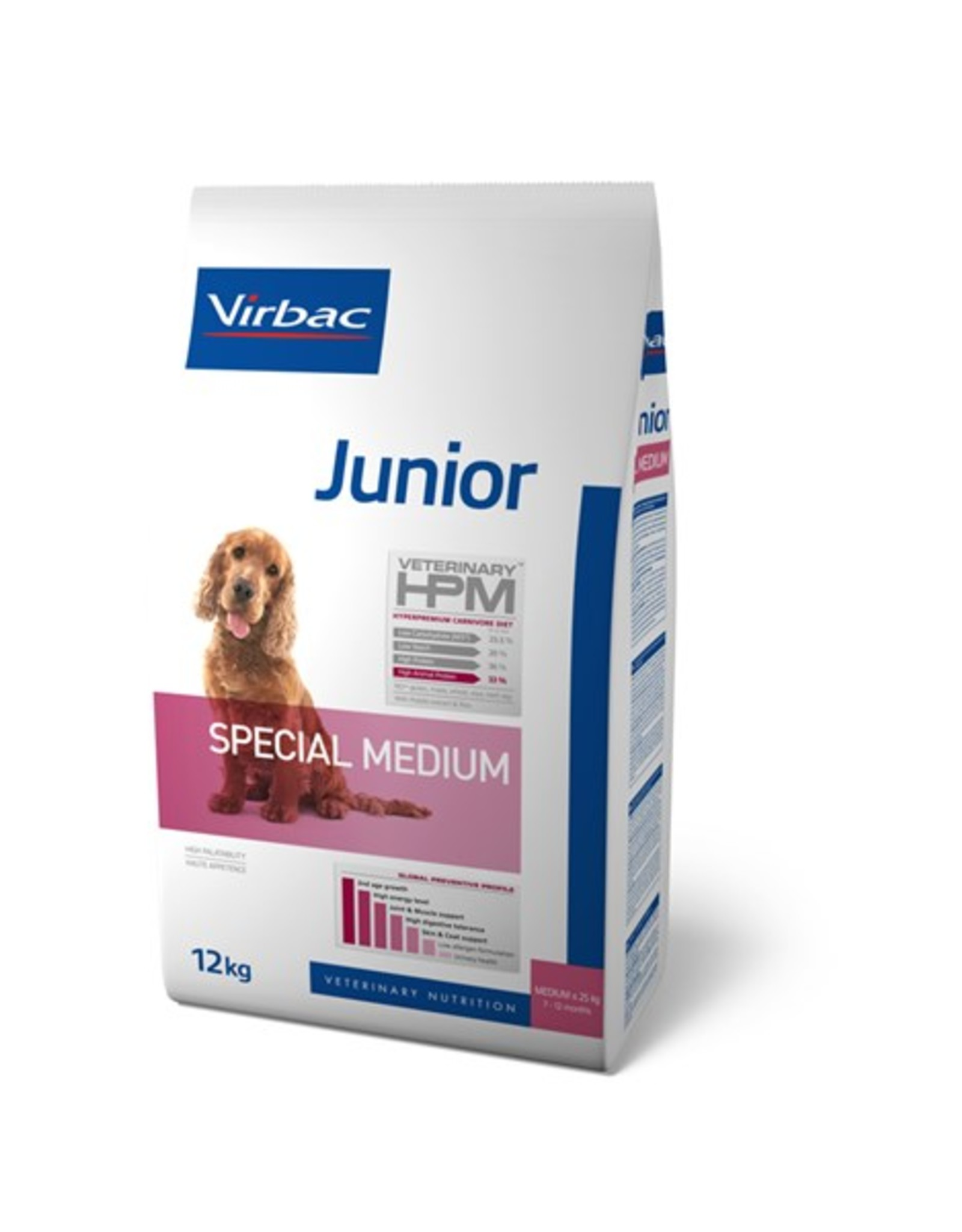 Virbac Virbac Hpm Hund Special Medium Junior 12kg