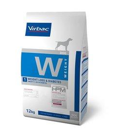 Virbac Virbac Hpm Chien Weight Loss/diabetic W1 12kg