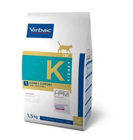 Virbac Virbac Hpm Chat Kidney Support K1 1,5kg