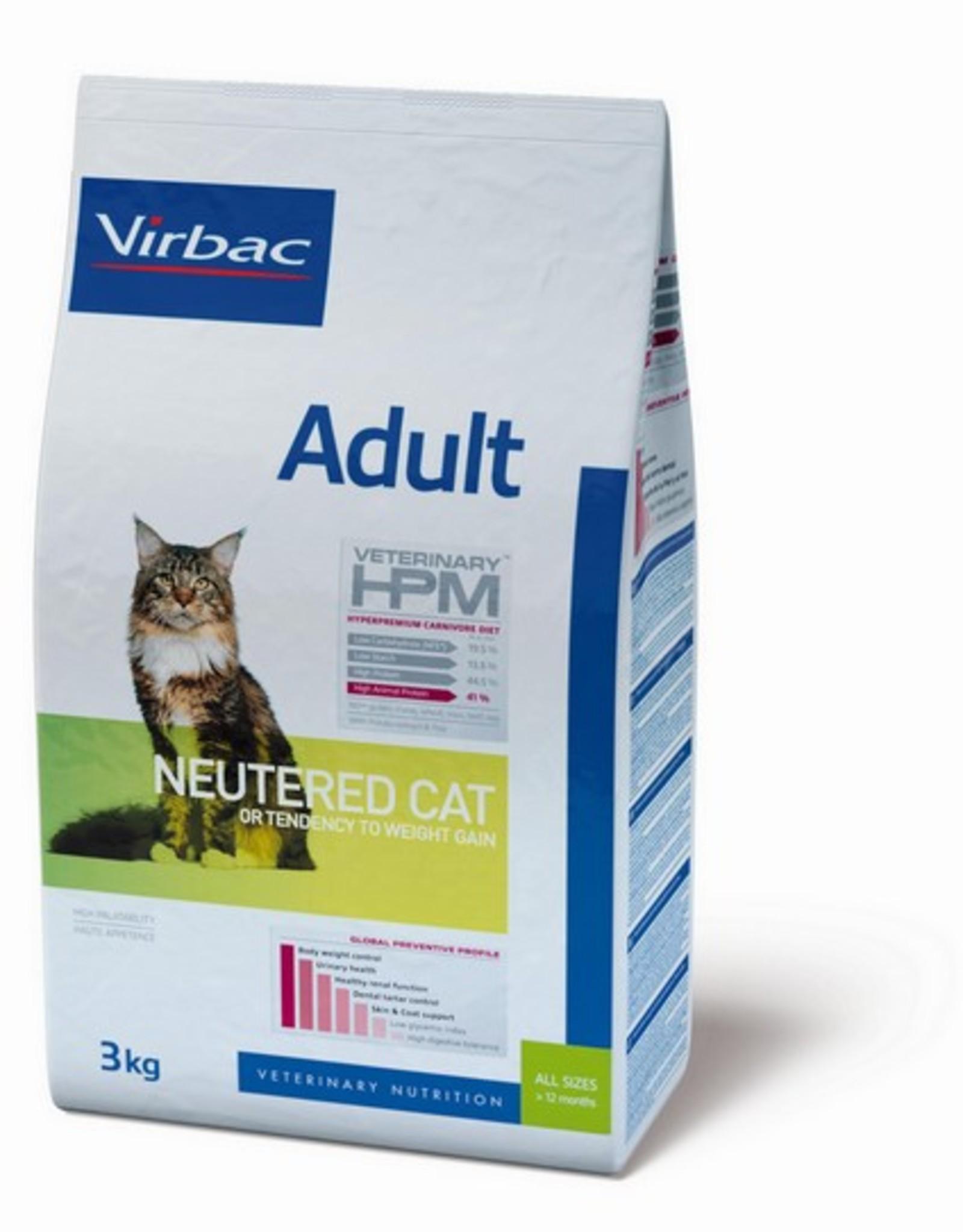 Virbac Virbac Hpm Cat Neutered Adult 3kg