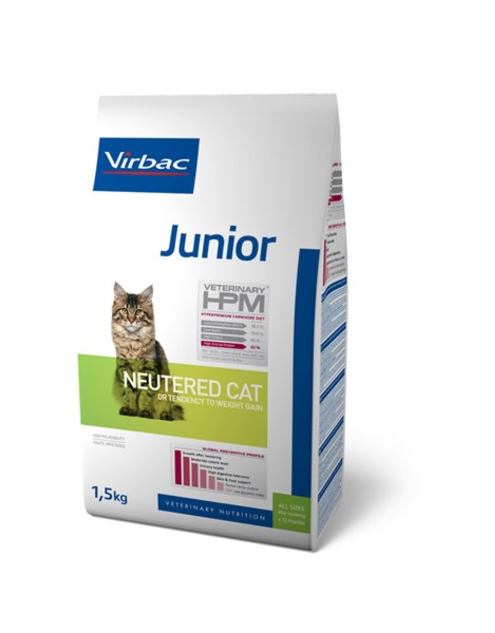 Virbac Virbac Hpm Kat Neutered Junior 1,5kg