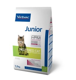 Virbac Virbac Hpm Cat Neutered Junior 1,5kg