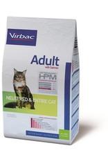 Virbac Virbac Hpm Katze Neutered/entire Adult Salmon 1,5kg