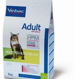 Virbac Virbac Hpm Chat Neutered/entire Adult Salmon 3kg