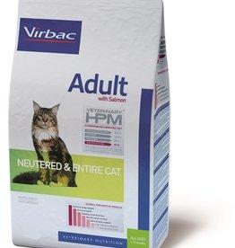 Virbac Virbac Hpm Kat Neutered/entire Adult Salmon 7kg