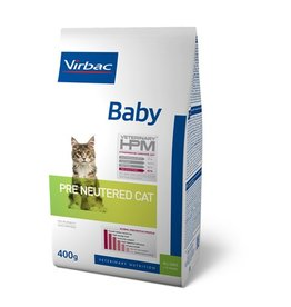 Virbac Virbac Hpm Chat Pre Neutered Baby 0,4kg