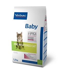 Virbac Virbac Hpm Cat Pre Neutered Baby 1,5kg