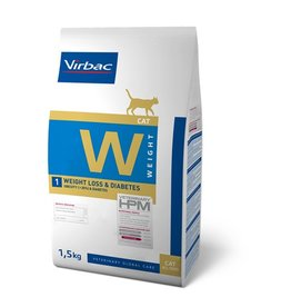 Virbac Virbac Hpm Chat Weight Loss/diabetic W1 1,5kg