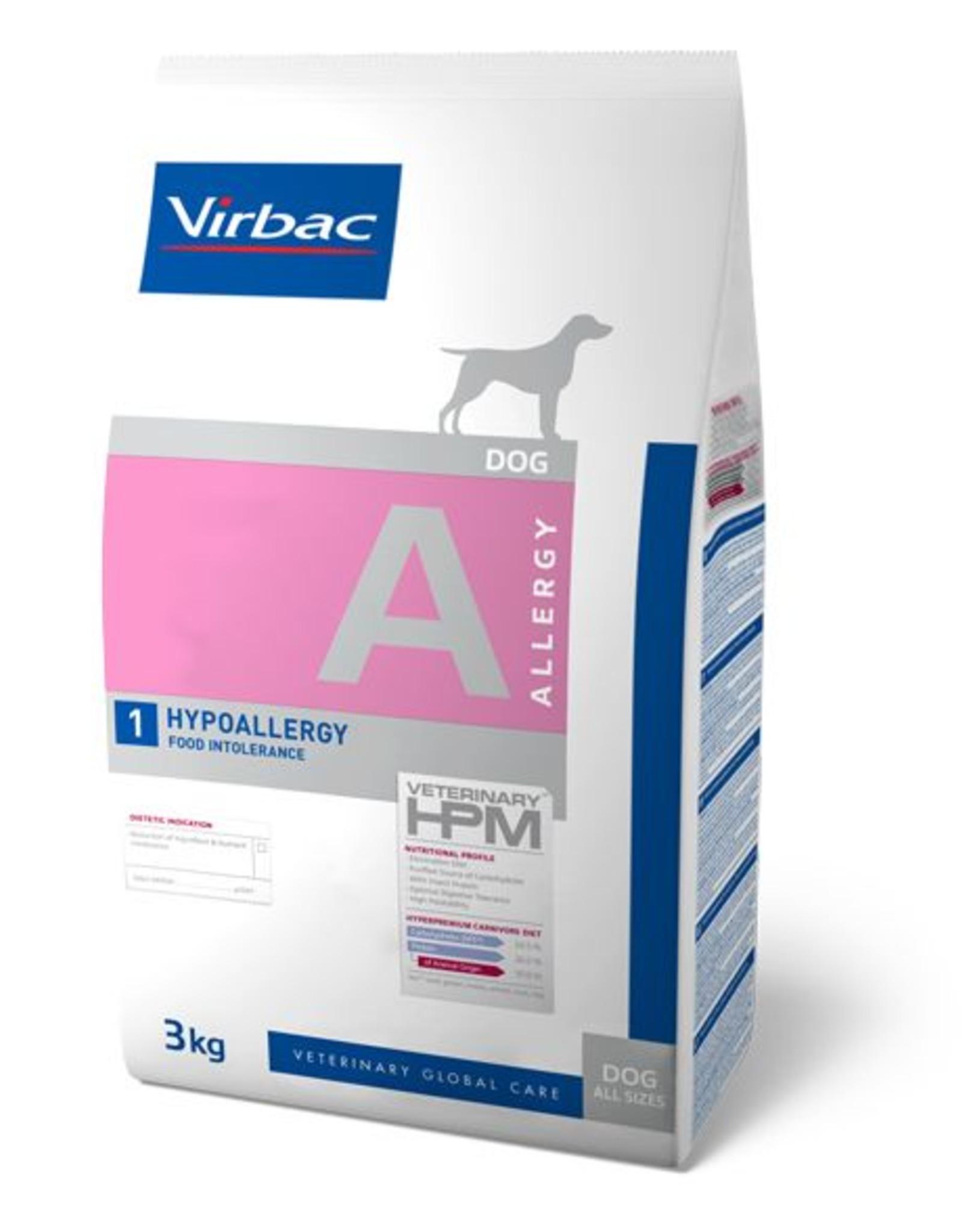 Virbac Virbac Hpm Chien Hypo Allergy A1 12kg