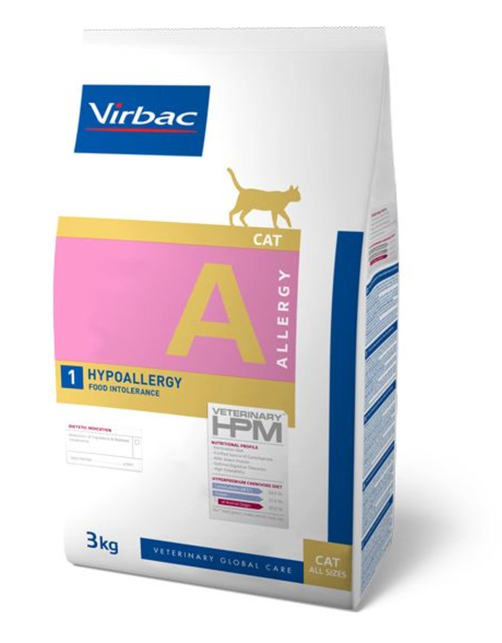 Virbac Virbac Hpm Kat Hypo Allergy A1 3kg