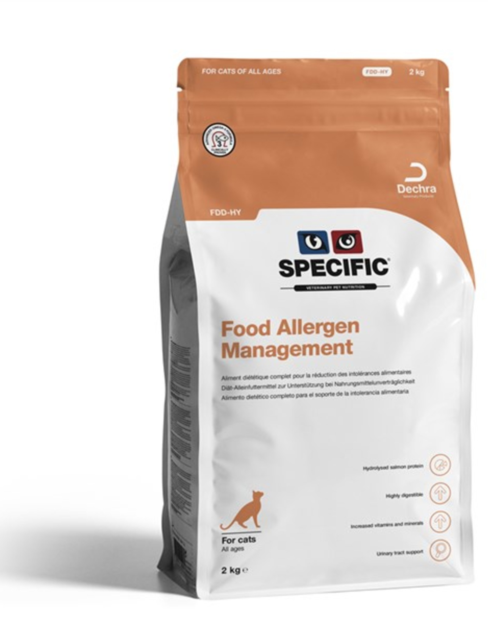 Specific Specific Fdd-hy Food Allergy 2kg Cat