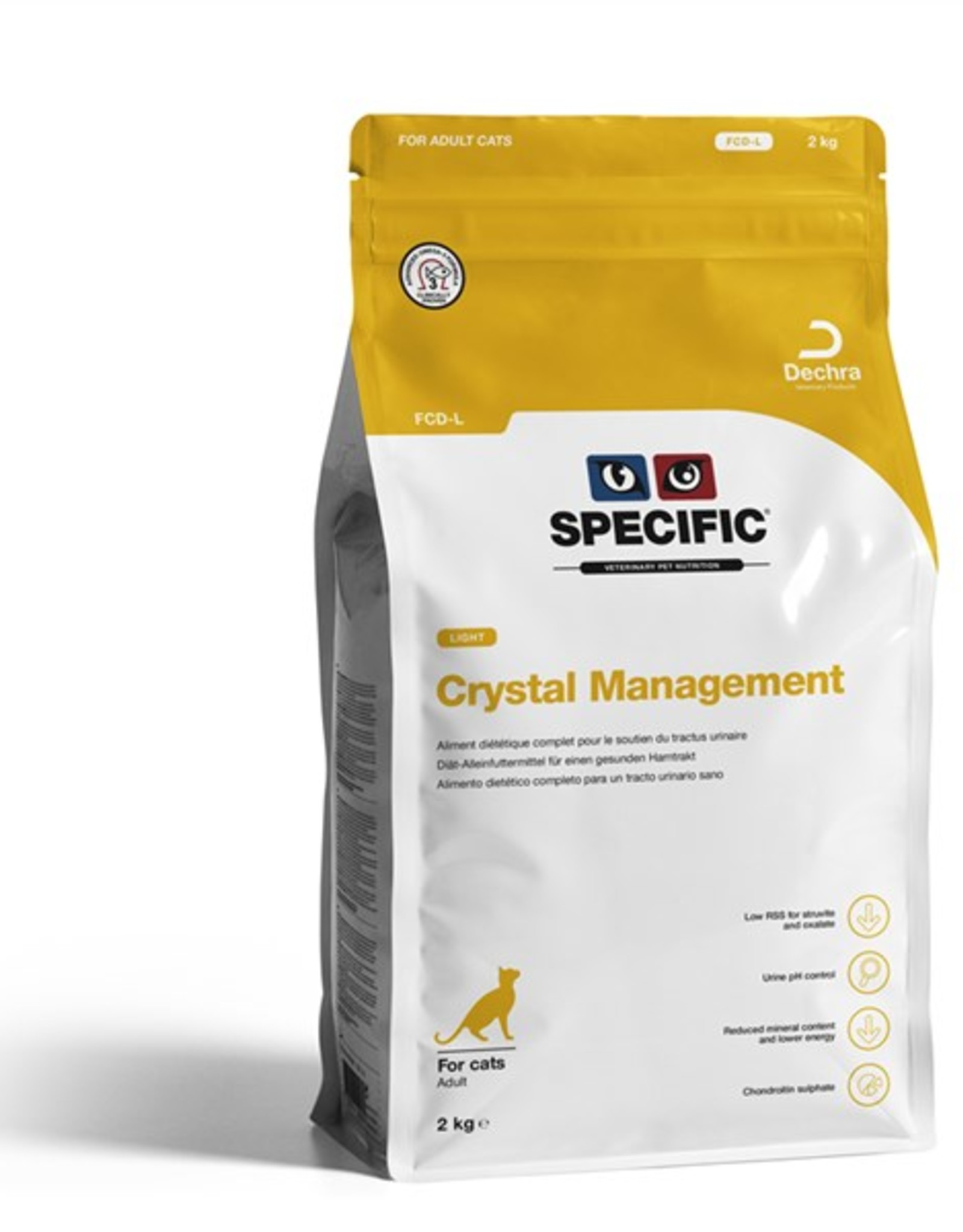 Specific Specific Fcd-l Crystal Management Light Chat 2kg