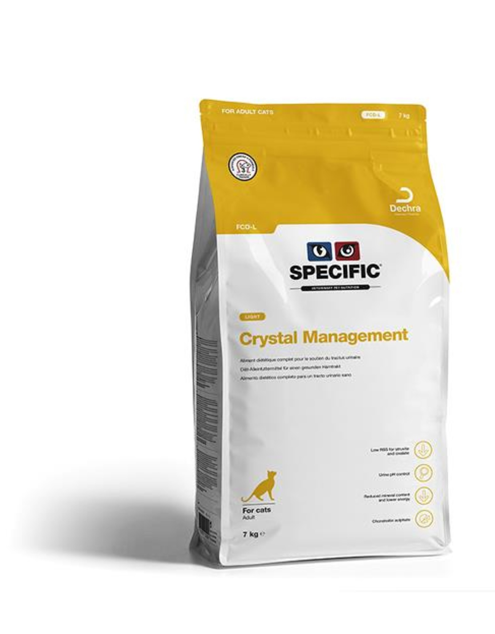 Specific Specific Fcd-l Crystal Management Light 4x400gr Cat