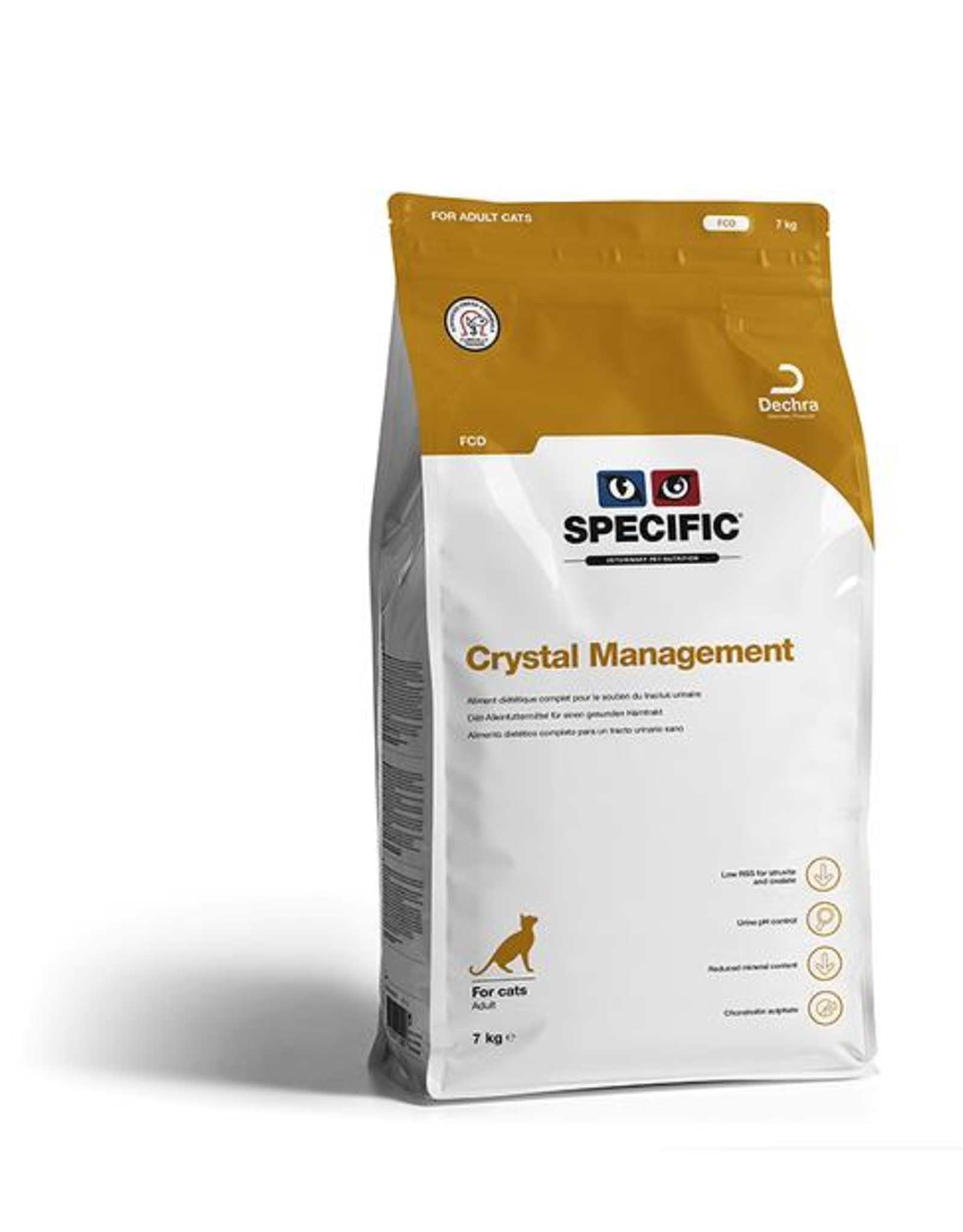 Specific Fcd Crystal Management Cat 4x400g