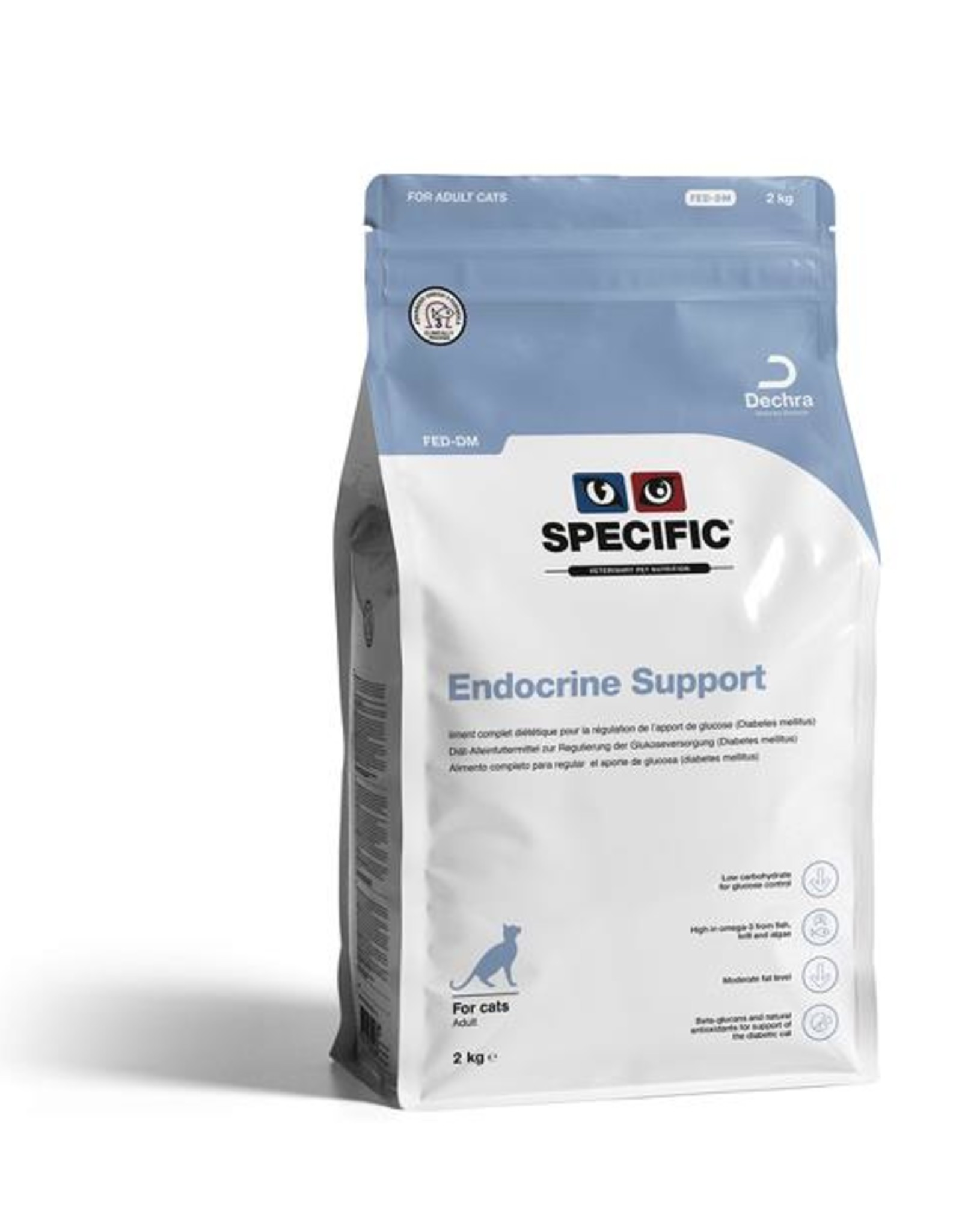 Specific Specific Fed-dm Endocrine Support Kat 4x400g
