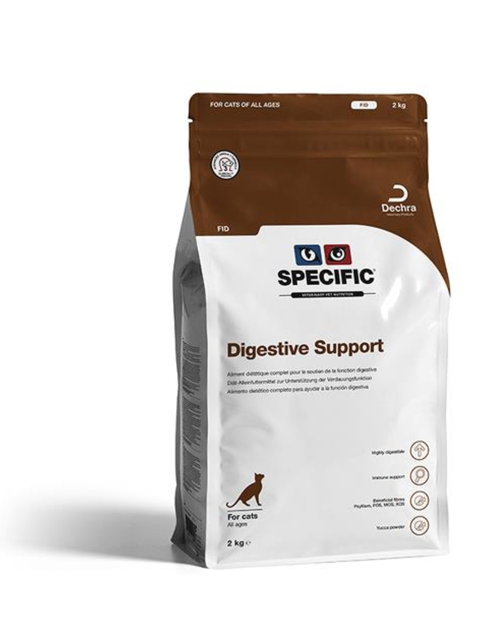 Specific Specific Fid Digestive Support Kat 4x400g