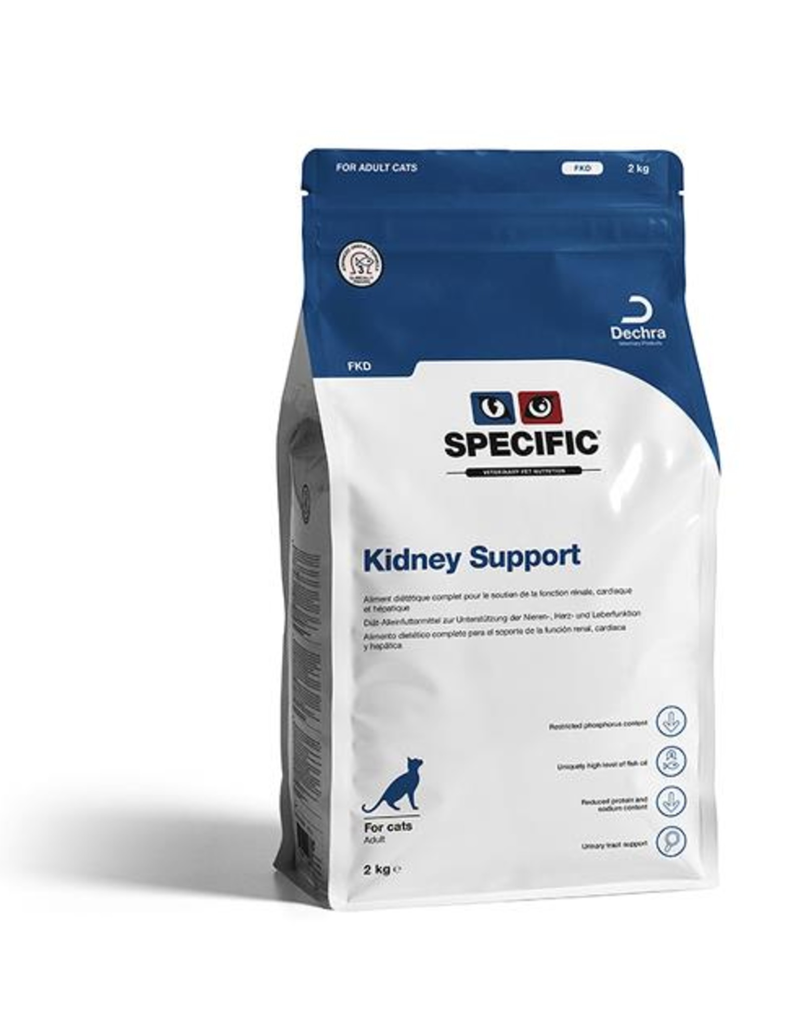 Specific Specific Fkd Kidney Support 4x400gr Kat