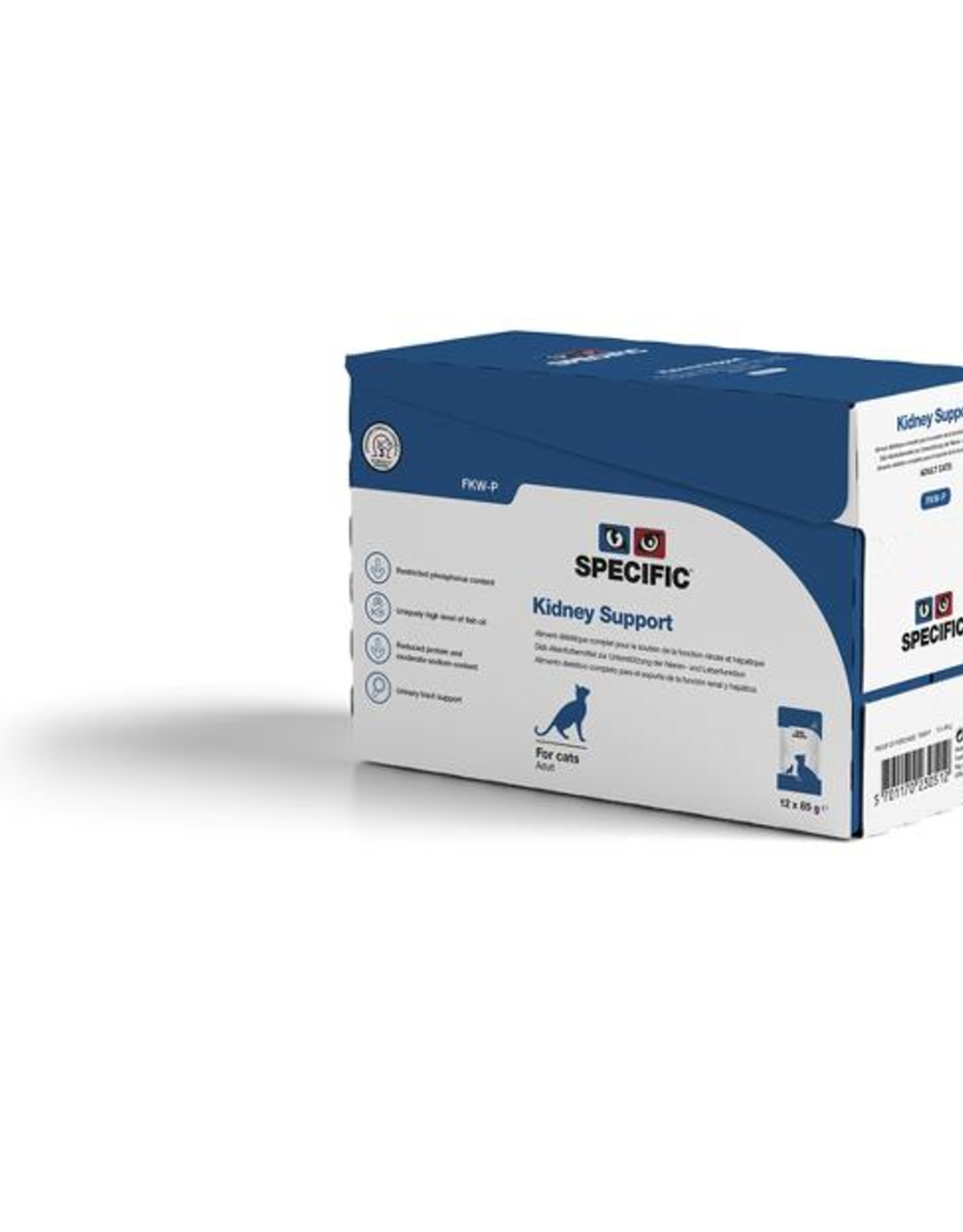 Specific Specific Fkw-p Kidney Support Adult Pouch 12x85g Cat