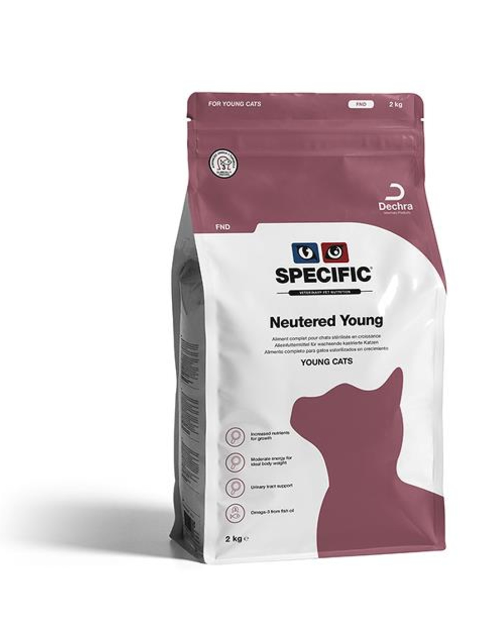 Specific Specific Fnd Neutered Young Cat 4x400gr