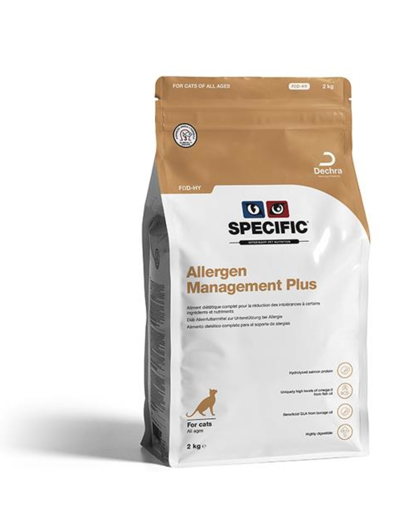 Specific Specific Fod-hy Allergy Management Plus Cat 2kg