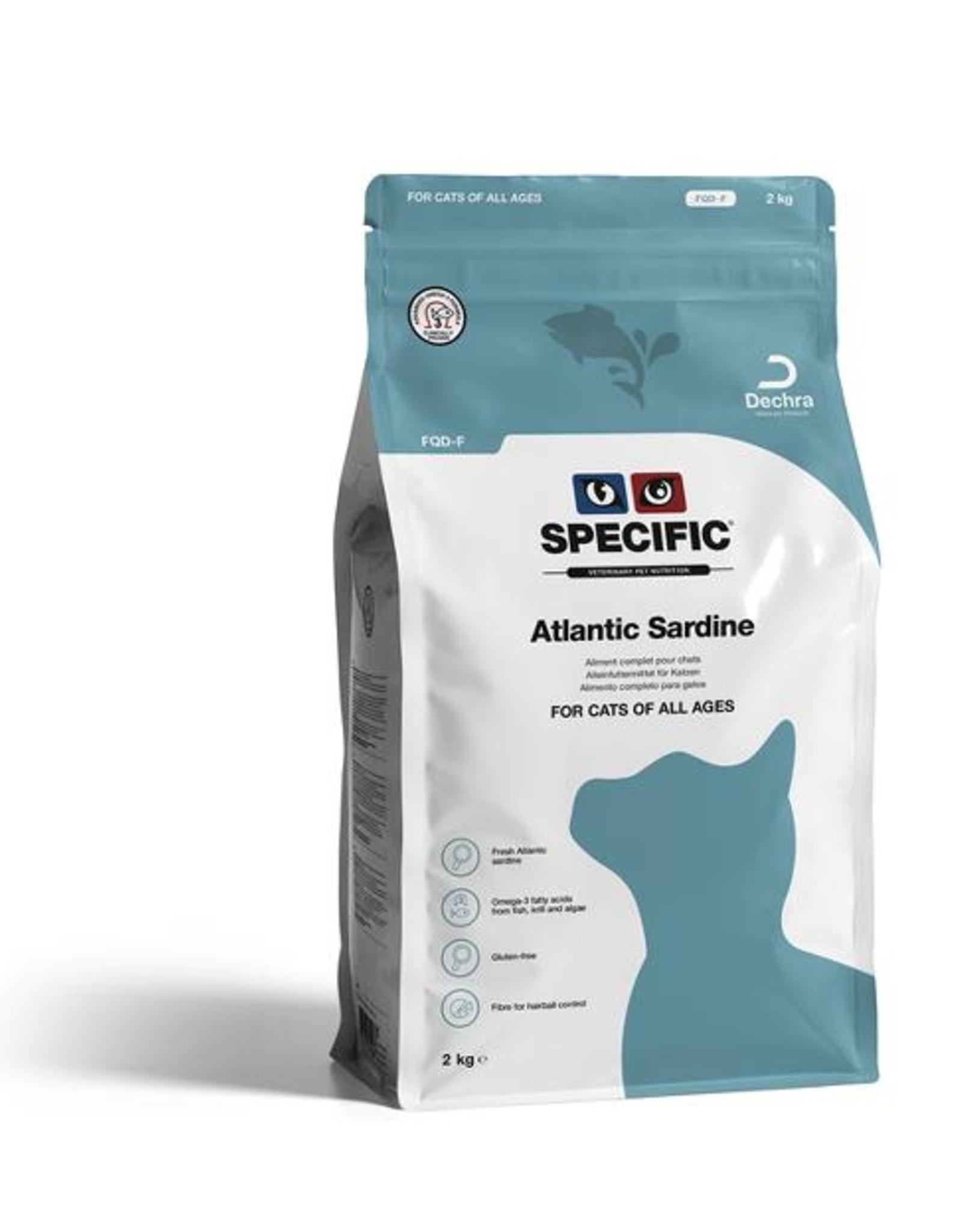 Specific Specific Fqd-f Atlantic Sardine Katze 2kg