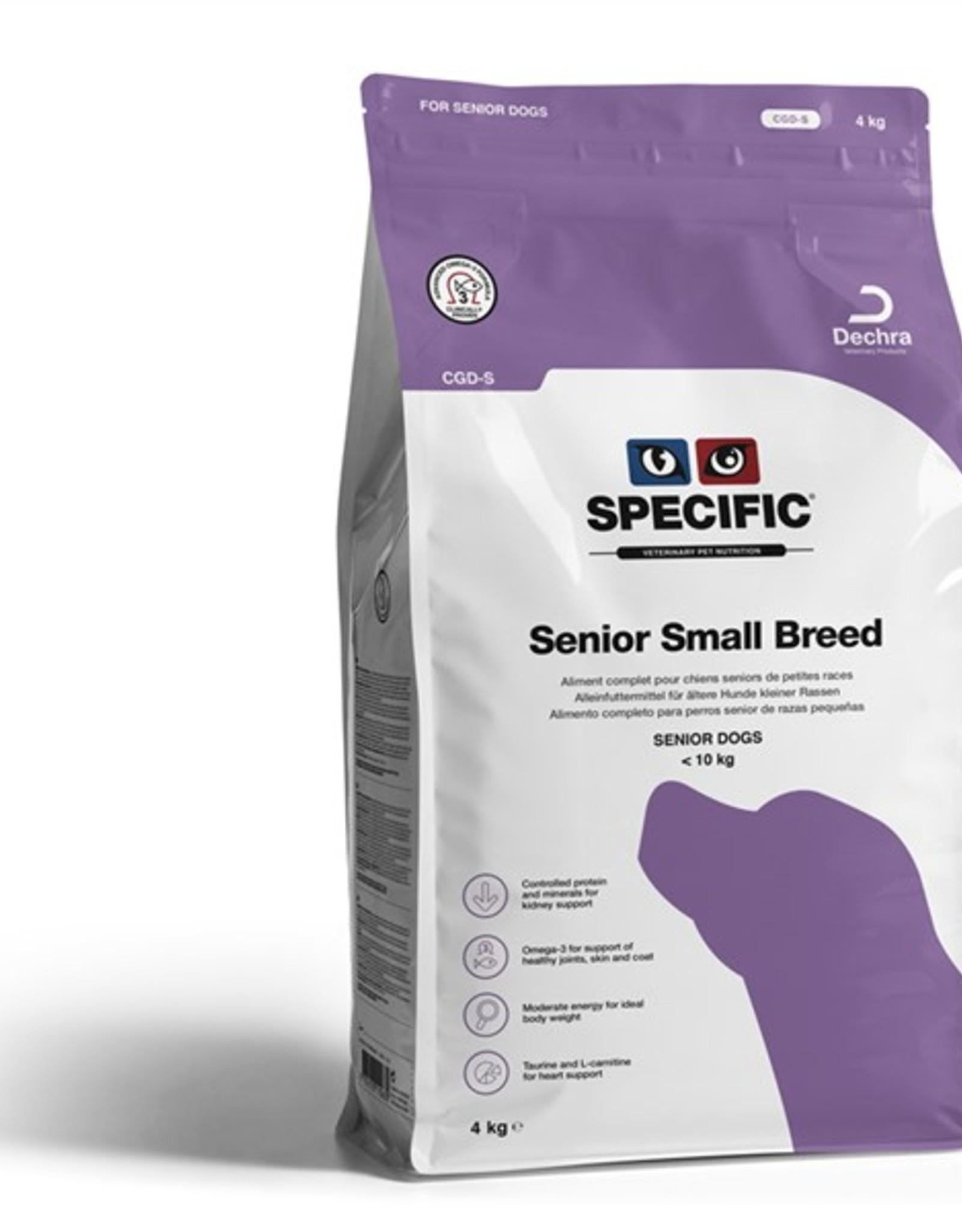 Specific Specific Cgd-s Senior Small 4kg