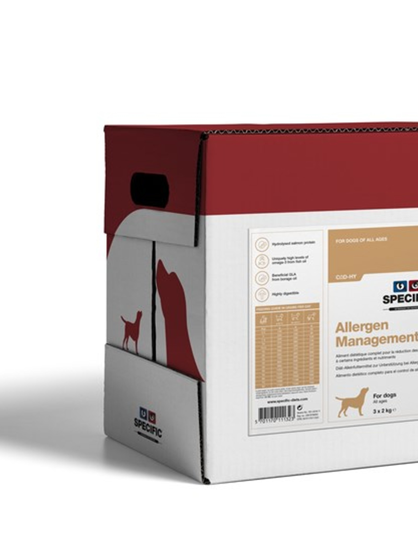 Specific Specific Cod-hy Allergy Management 3x2kg
