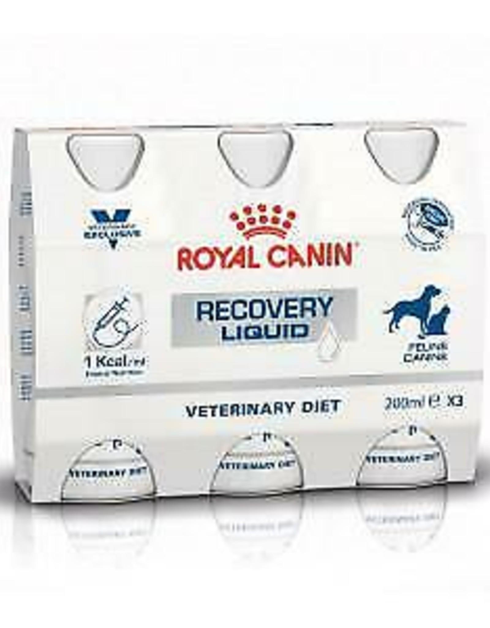 Royal Canin Royal Canin Recovery Liquid Hond/kat 3x200ml