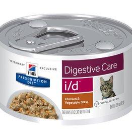 Hill's Hills Pdiet Feline Id Stress Chicken + Vegetable Stew 24x82g