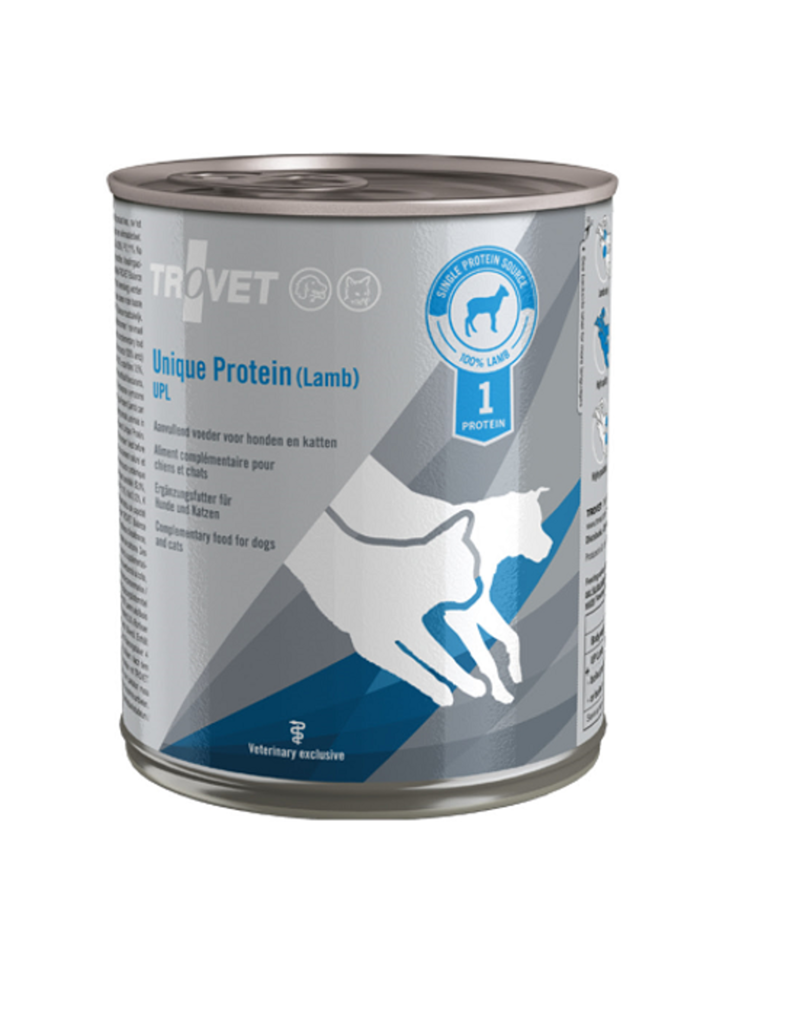 Trovet Trovet Upl Hond/kat Lamb 6x800g