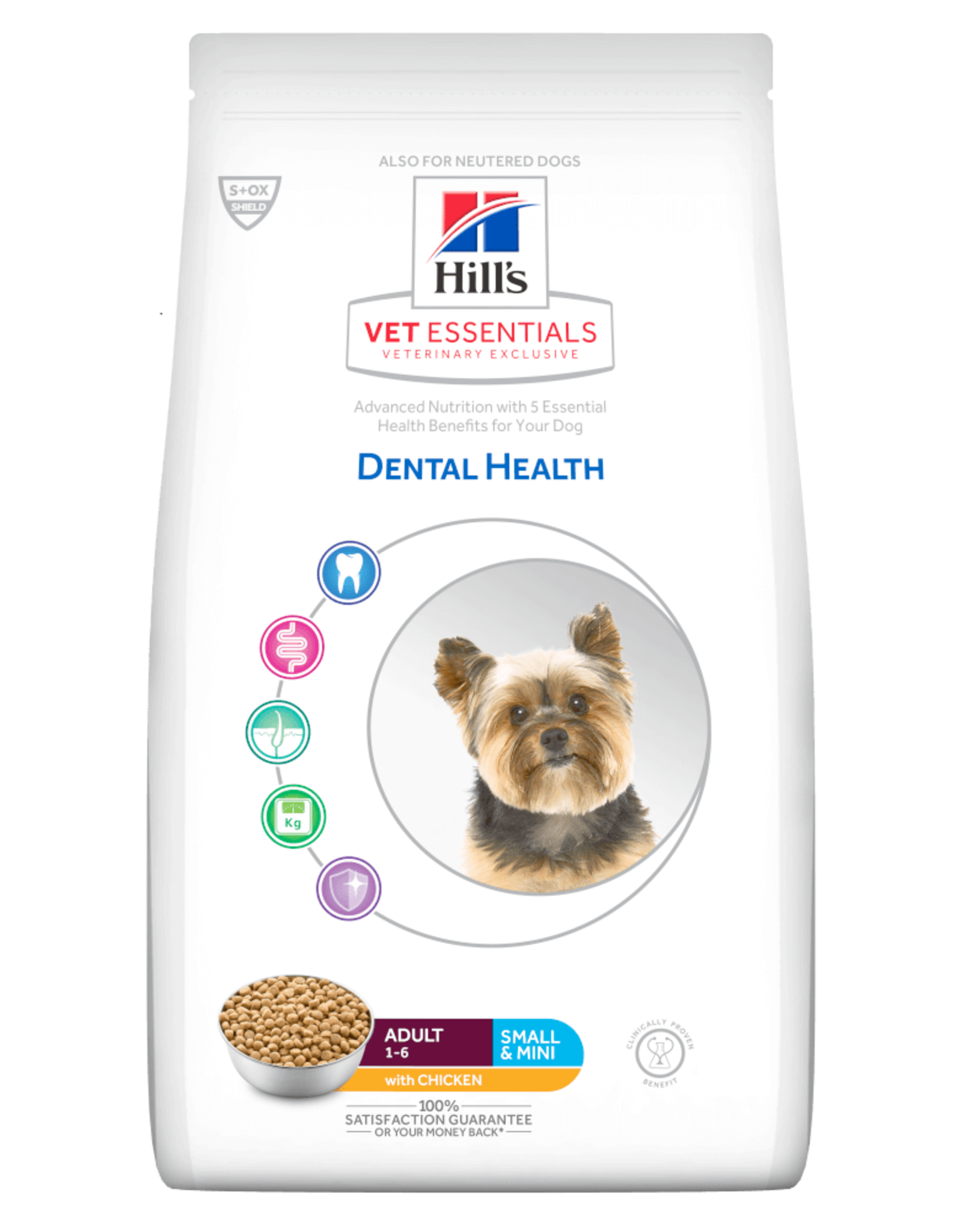 Hill's Hills Vetess Canine Adult Dental Mini Chk 7kg