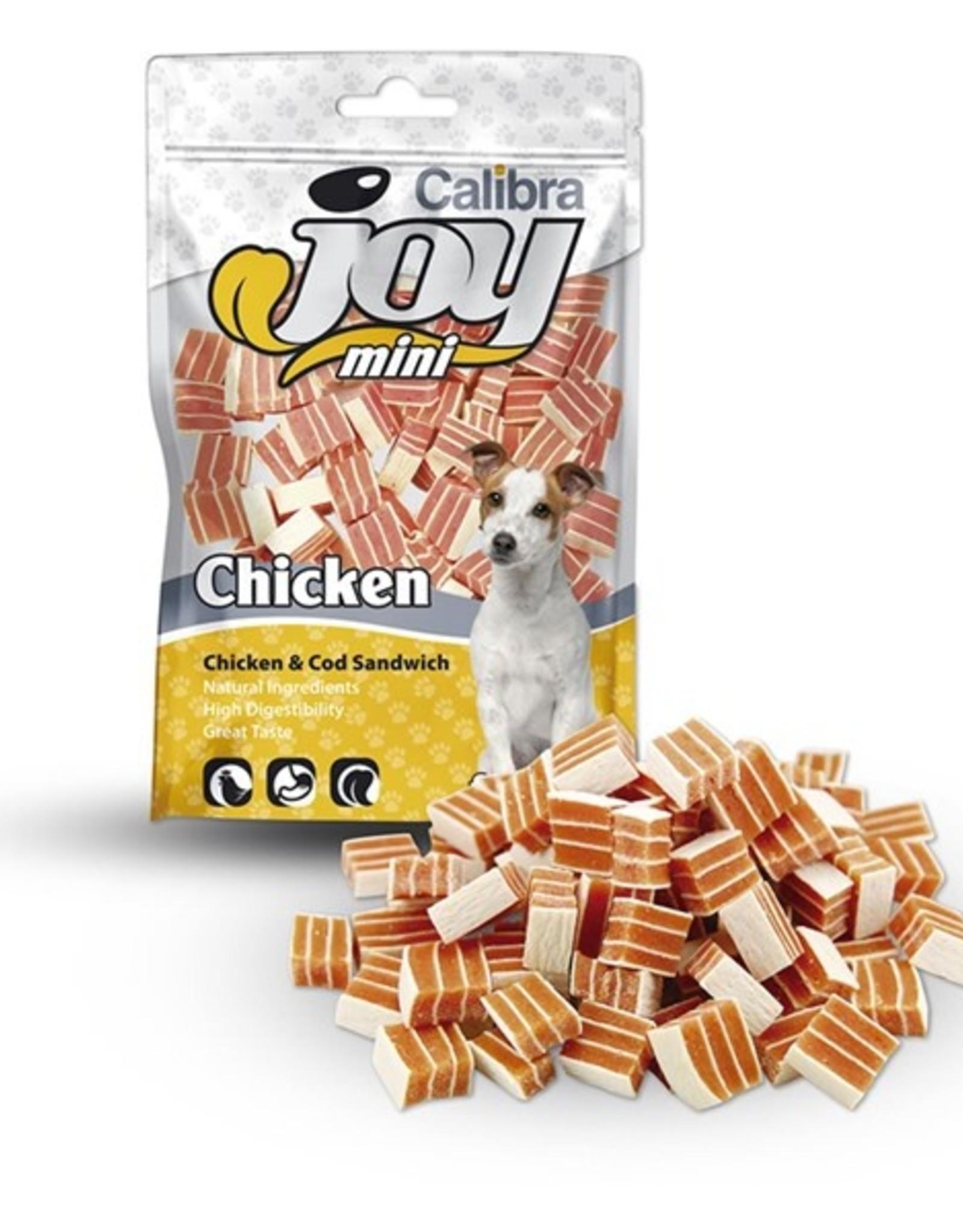 Calibra CALIBRA JOY CANINE MINI SANDWICH CHICKEN/COD 70G