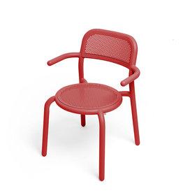 Fatboy Fatboy Toní Armchair stoel met armrust Industrial Red