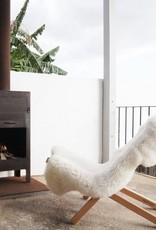 Weltevree Weltevree Fieldchair Loungestoel buitenstoel Bruin