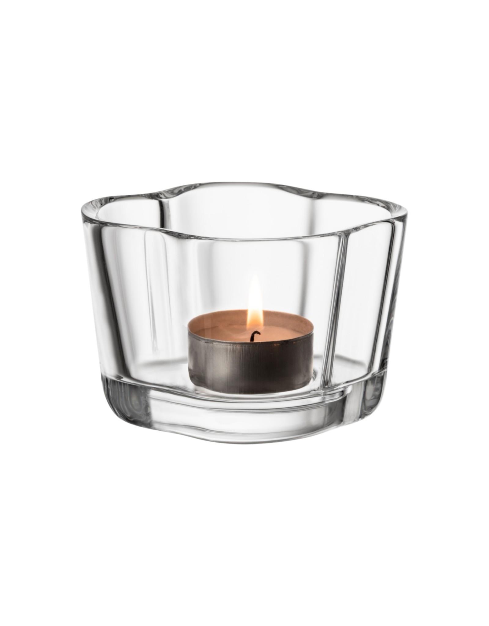 Iittala Iittala Alvar Aalto Collection Waxinelichthouder / Sfeerlicht 60 mm Helder