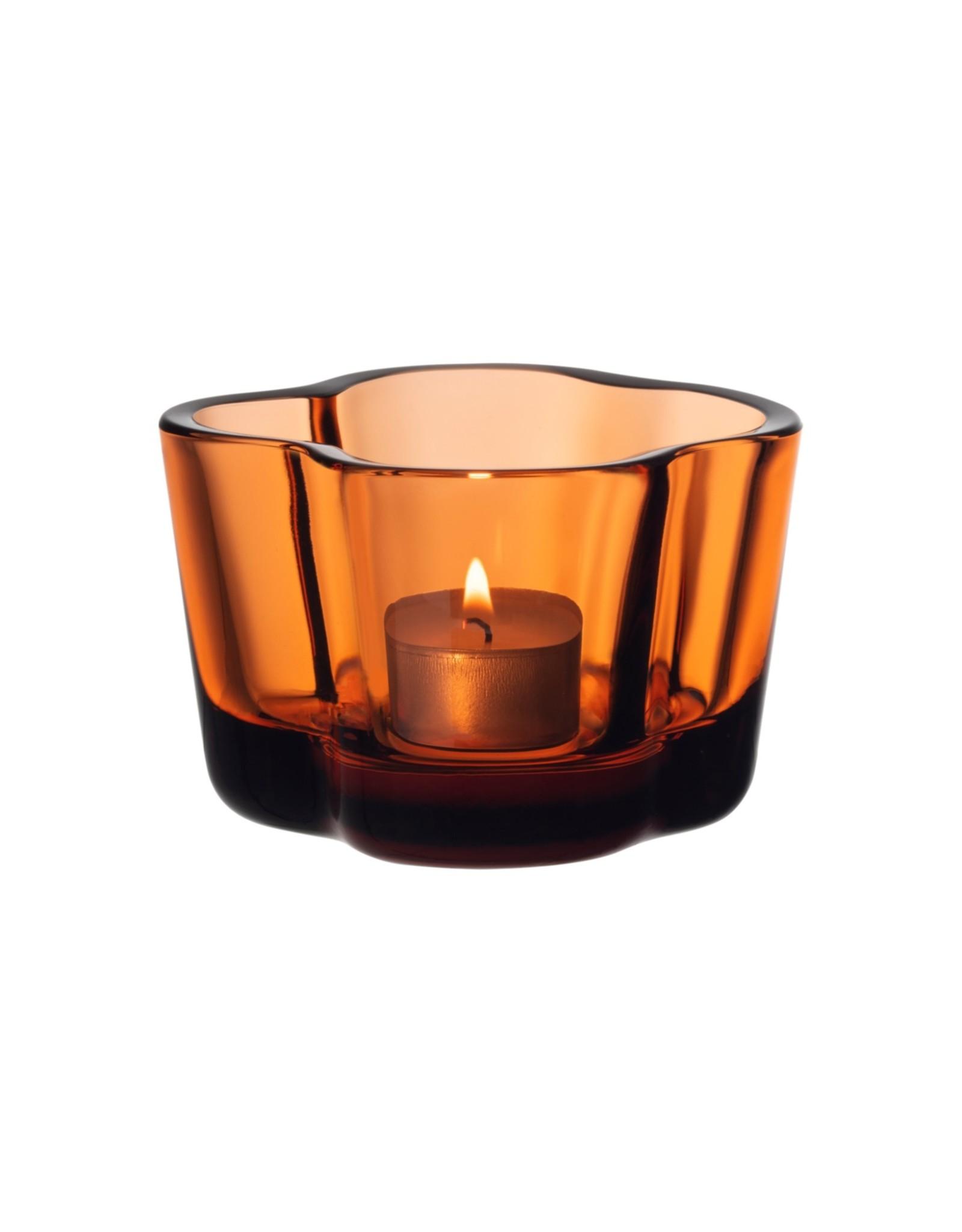 Iittala Iittala Alvar Aalto Collection Waxinelichthouder / Sfeerlicht 60 mm Sevilla Orange