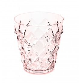 Koziol Koziol - Crystal S - Drinkglas - 250ml - transparant roze - set van 7