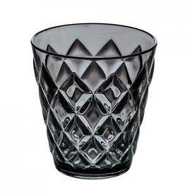 Koziol Koziol - Crystal S - Drinkglas - 250ml - transparant grijs - set van 7