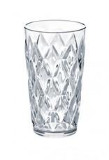 Koziol Koziol - Crystal L - Drinkglas - 450ml - transparant helder - set van 6