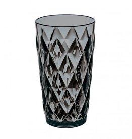 Koziol Koziol - Crystal L - Drinkglas - 450ml - transparant grijs - set van 5