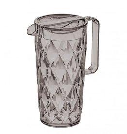 Koziol Koziol Crystal Karaf - 1,6l - transparant grijs