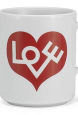Vitra Vitra Coffee Mug / Koffietas Love Heart Rood