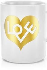 Vitra Vitra Coffee Mug Love Heart Goud