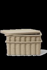 Ferm Living Ferm Living Papierpulp Opbergdoos - set van 2 - bruin