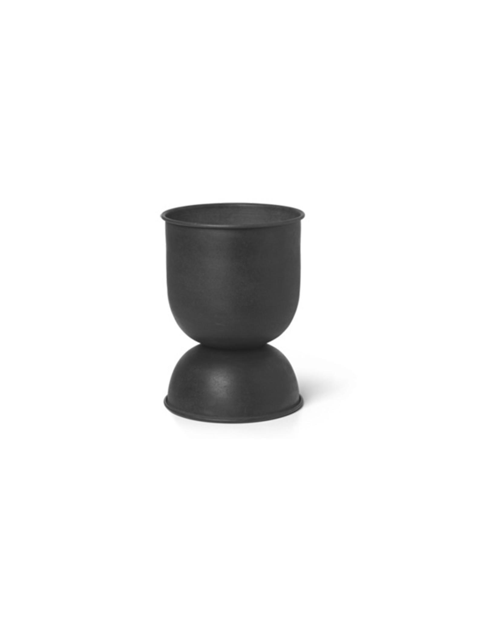 Ferm Living Ferm Living Hourglass Pot Klein zwart