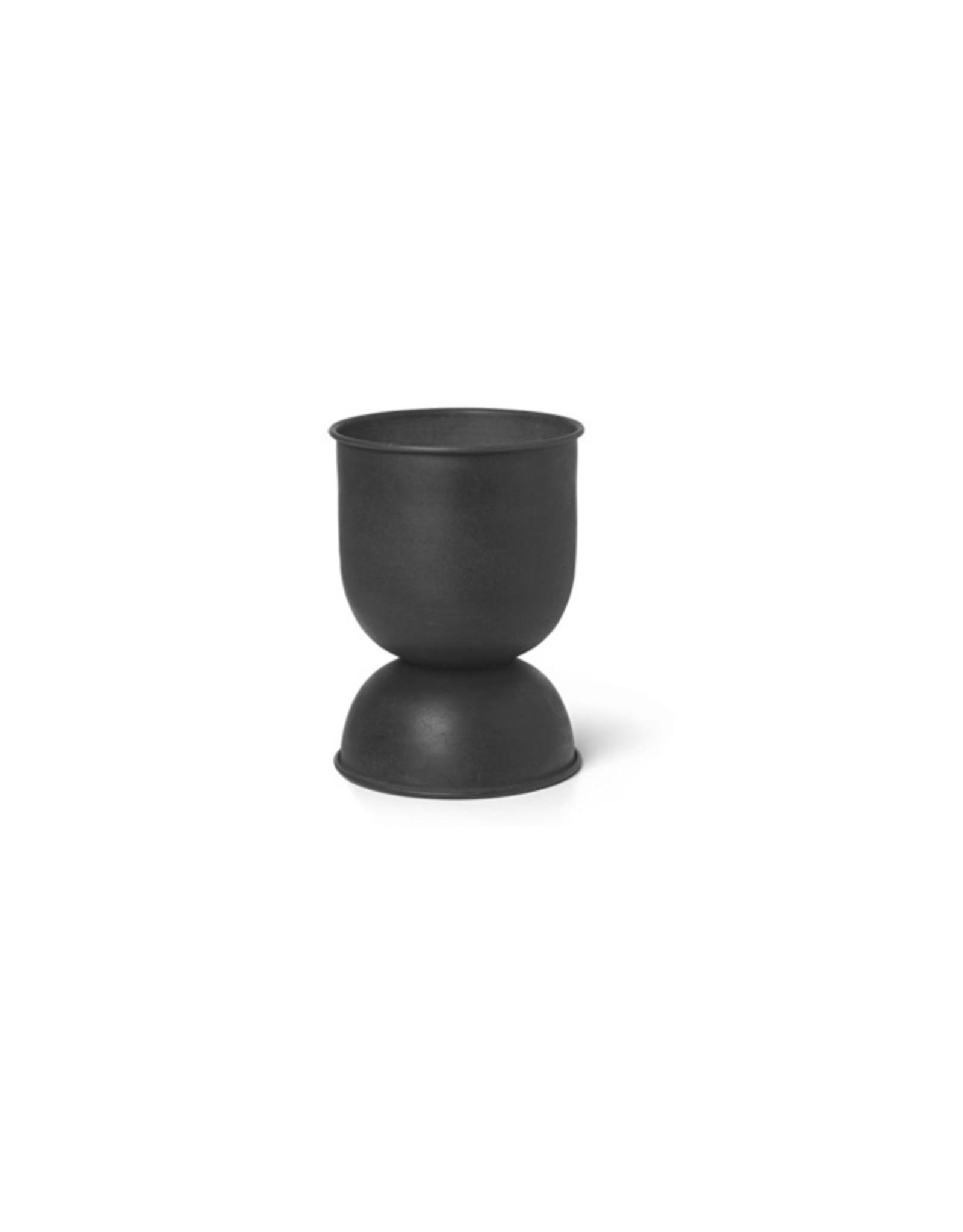 Ferm Living Ferm Living Hourglass Pot Extra Klein zwart