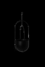 Ferm Living Ferm Living Hanging Deco Pot zwart